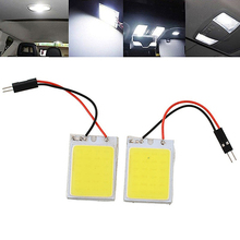 Newest Hot HID White 24COB LED Panel Light Bulb Bright Car Interior Trunk Inner Dome Lamp