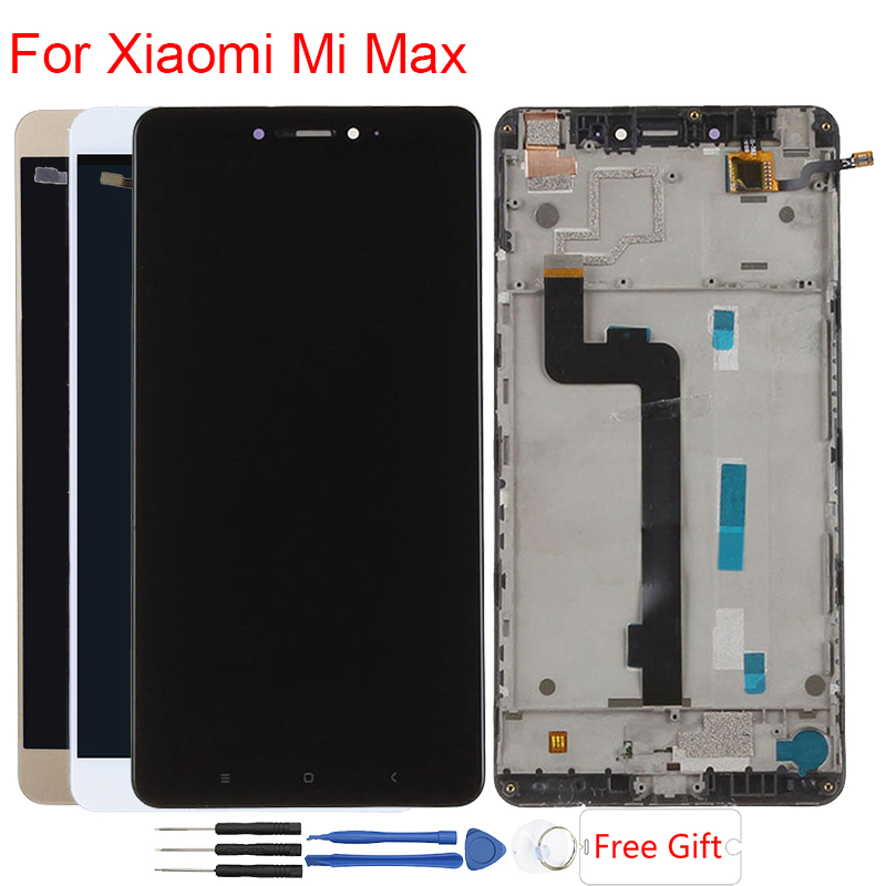Mi Max Display Module For Xiaomi Mi Max LCD With Frame Touch Screen Assembly 6 44