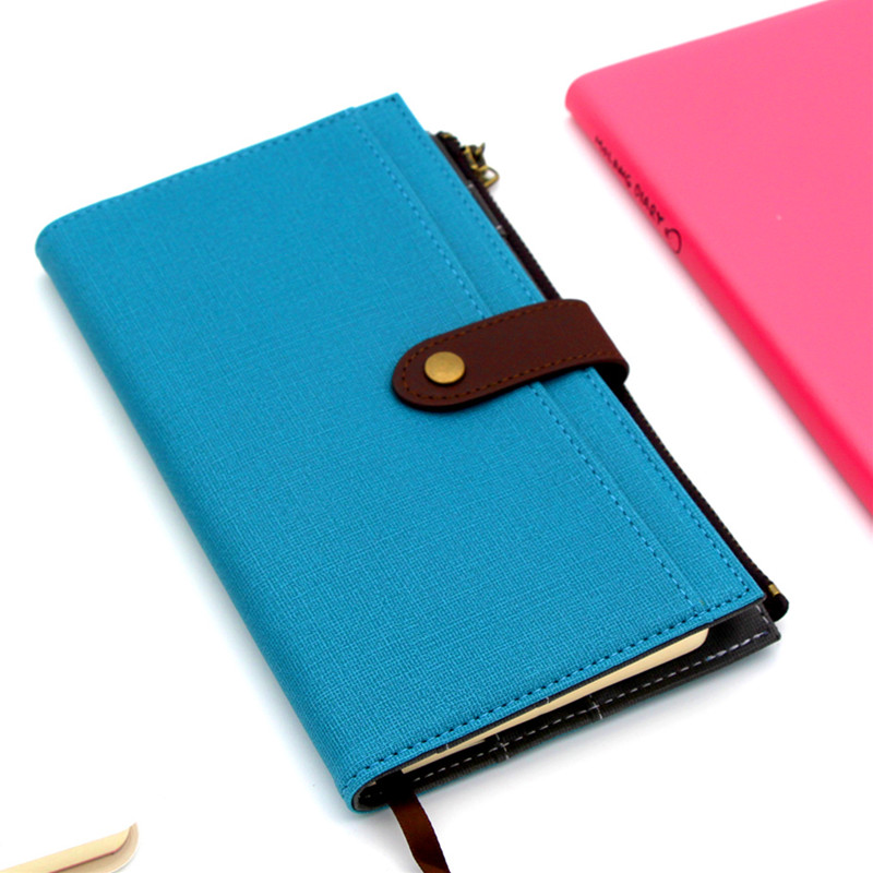 Passion Cute spiral notebook ,leather agenda planner organizer series travell journal /daily plan BK09 girly notebook stationery suit clips pens daily plan agenda sticky notes great value planner organizer set cute journals series