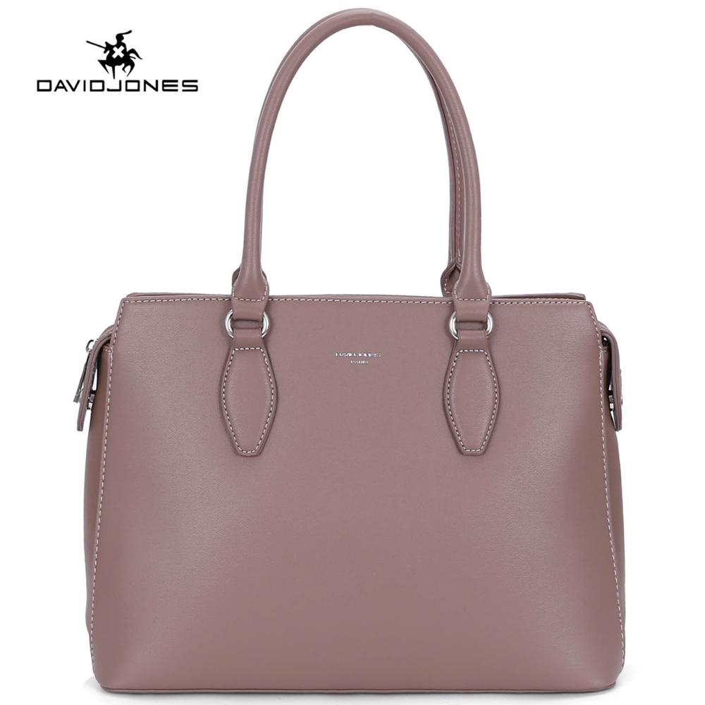 c6961c0b830e Dropwow DAVIDJONES women tote bags faux leather female shoulder bags ...