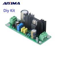 Aiyima lm317 positivo retificador filtro placa de alimentação ac para dc step down regulador placa de circuito kit diy amplificador|Amplificador|Eletrônicos -