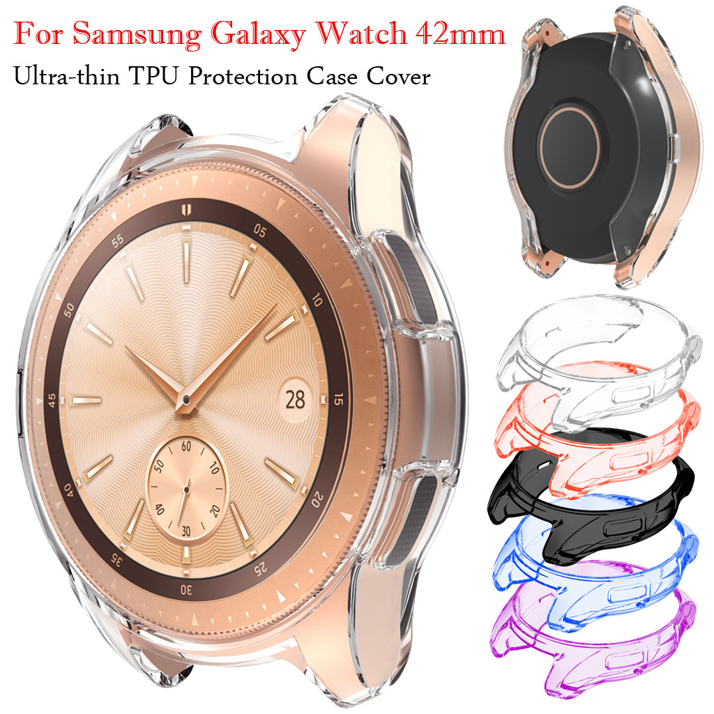 Ultra-thin Soft TPU Protection Silicone Case Cover For Smartwatch Samsung Galaxy Watch 42mm