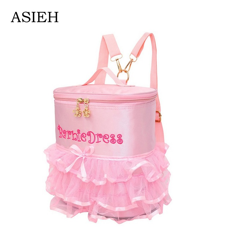 Little girl Lace backpack embroidery school bag child pink backpack ladies backpack Brand lovely school bag mochila mochilas new sweet little fresh little lady backpack fashion kids mini school bag ly1813