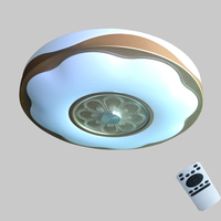 LED Ceiling Lamp 36W Smart Remote Control Arbitrary Dimming Bedroom Living Room Ceiling Lights Fixture