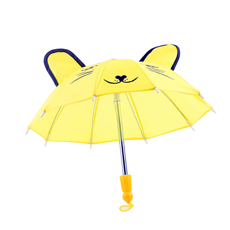 Beautiful Umbrella Accessories Kids Girls Gifts Suitable for 18inch American Girl Doll HG99(China)