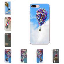 Soft Fashion Mobile Phone Up Movie Fly House For Sony Xperia Z Z1 Z2 Z3 Z4 Z5 compact Mini Premium M2 M4 M5 T3 E3 E5 XA