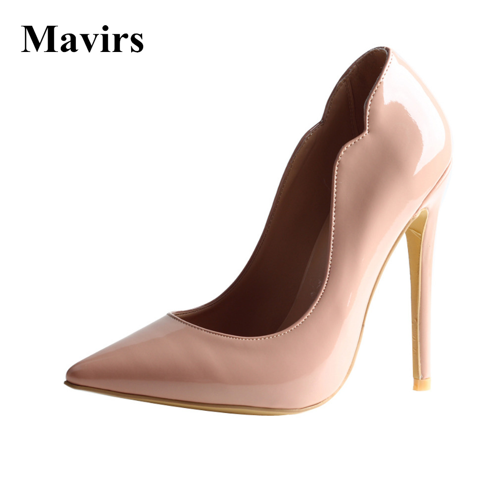 Mavirs 2017 Summer Fashion Ladies Extreme High Heels Wedding Party Shoes Plus Size Elegant Stiletto Women Pumps Pointed Toe soft leather real womens pumps summer style high heels custom made plus size pointed toe ladies party shoes fashion party shoes