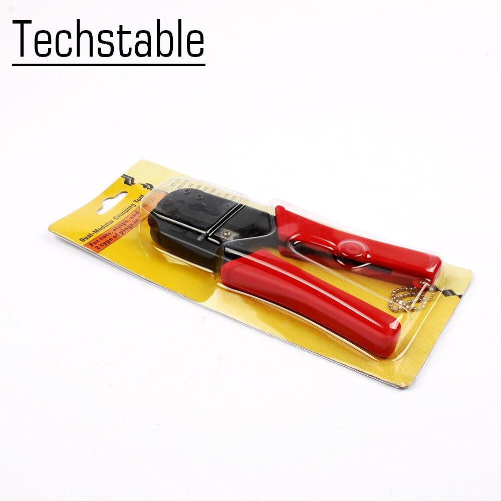 Handwerkzeuge Werkzeuge Ht-568 Netzwerk Werkzeug 6 P 9,65mm 8 P 11,68mm Netzwerk Zange Telefon Terminal Werkzeug