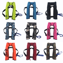 Automatic Inflatable Swiming Life Vest Fishing Life Jacket Unisex Top Rescue Vest 15kg Buoyancy kayak Water Sports Safety Jacket omouboi water sport buoyancy pfds life jacket inflatable jacket vest surfing swimming safety floatage jacket for adult 80 220lbs