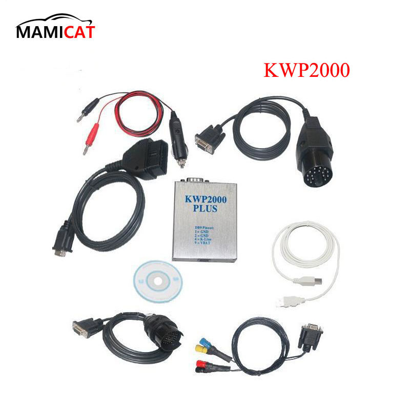 OBD2 KWP2000 Plus ECU Engine Tune Remap Flasher Chip Tuning Kit Diagnostic Tools galletto 1260 obdii eobd ecu remap diagnostic chip flashing cable
