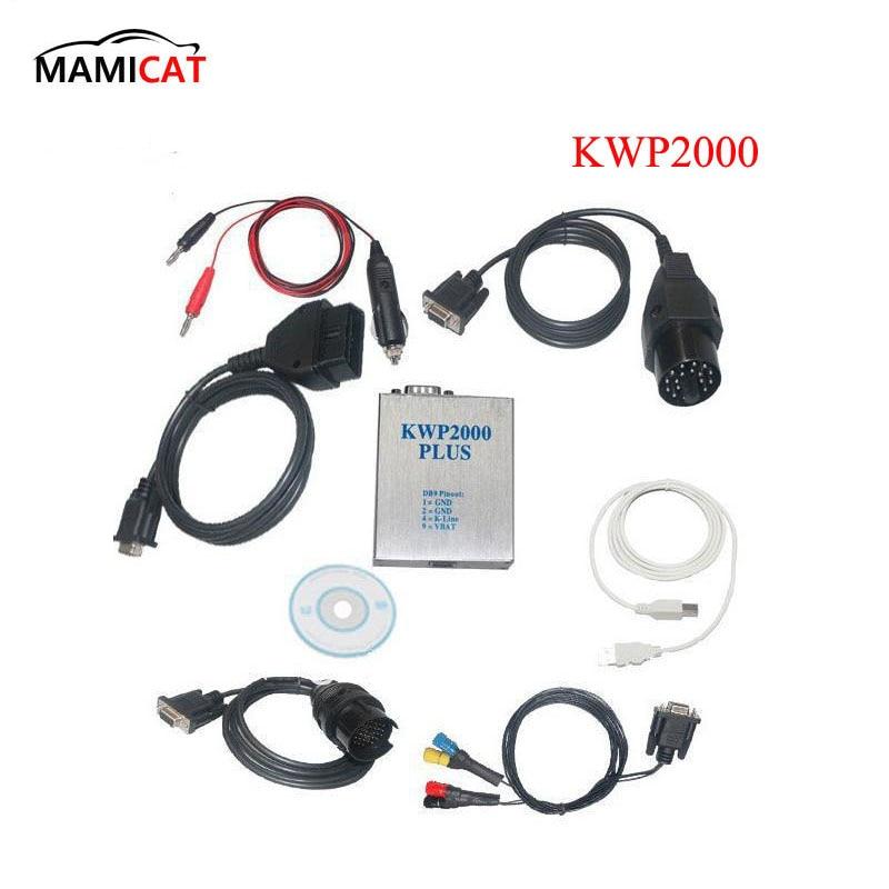 цена на OBD2 KWP2000 Plus ECU Engine Tune Remap Flasher Chip Tuning Kit Diagnostic Tools