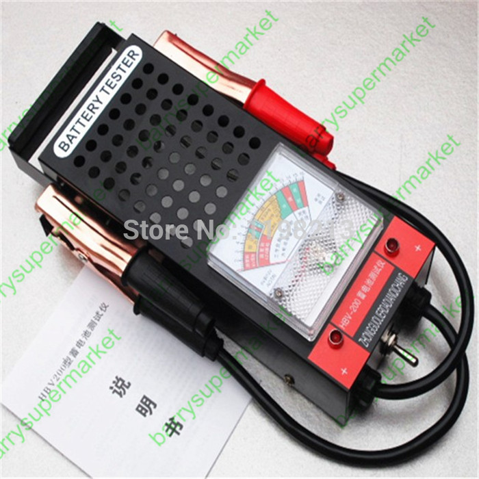 Battery Tester Car Battery Meter Voltage Meter Voltmeter
