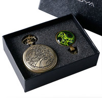 Uk Movie Doctor Who DW Pocket Watch Men Quartz Fashion Necklace Dr Who Luxury Gift Box