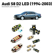 Led interior lights For Audi S8 D2 1994-2003 18pc Led Lights For Cars lighting kit automotive bulbs Canbus цена в Москве и Питере