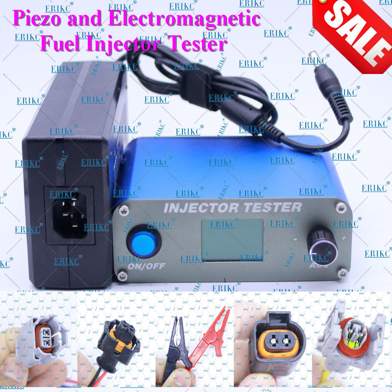 ERIKC Pressure Tester Diesel Injector Oil Pressure Equipment CR Injector Measuring Tools For Bosch Denso Delphi Pizeo Series professional bst203 c piezo and electromagnetic common rail injector tester for bosch delphi denso siemens continential