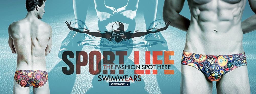 homens, roupa de praia esportiva para nadar,