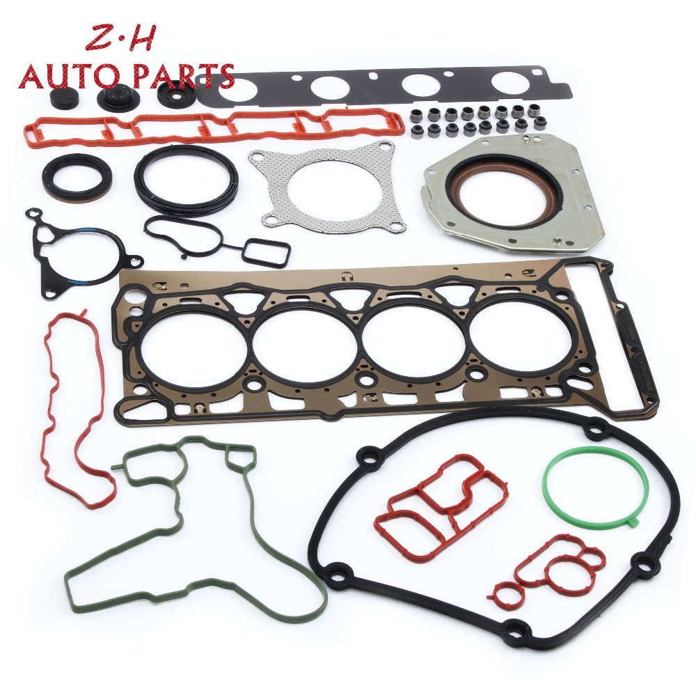 NEW 06J 103 383 D EA888 Engine Cylinder Head Gasket Repair Kit For VW Jetta Golf Passat Audi A4 Q5 TT Skoda Seat 1.8T 06H103171F