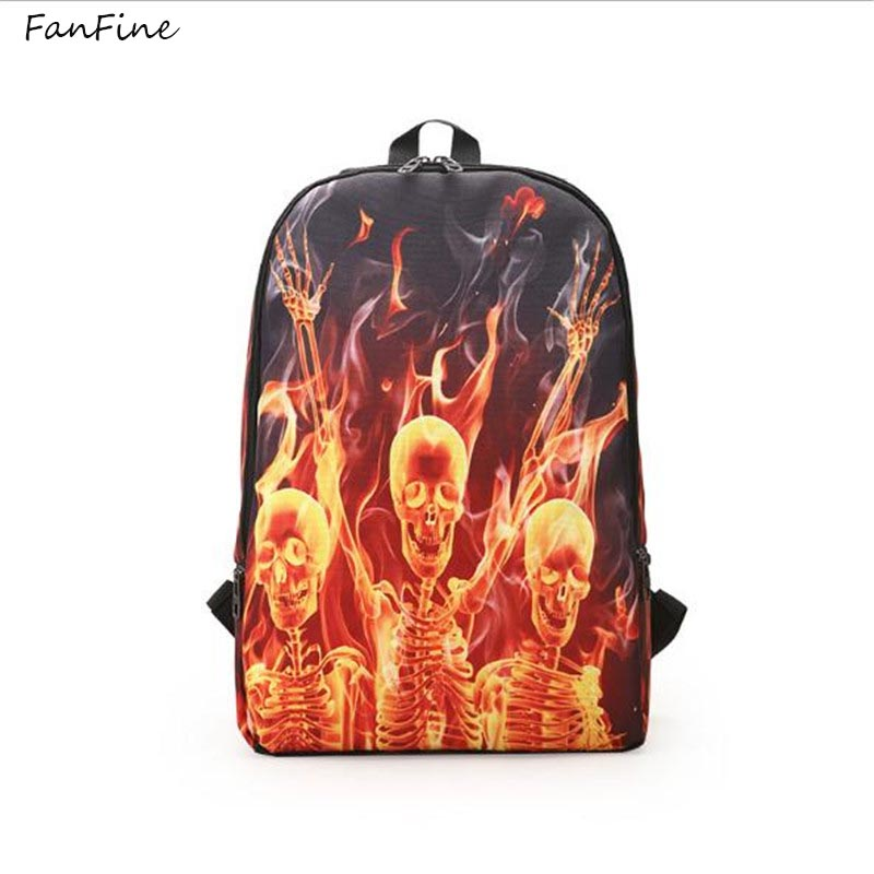 FanFine new Printing Customization Backpack Anime Darth Vader Attack of the Clones Women ...