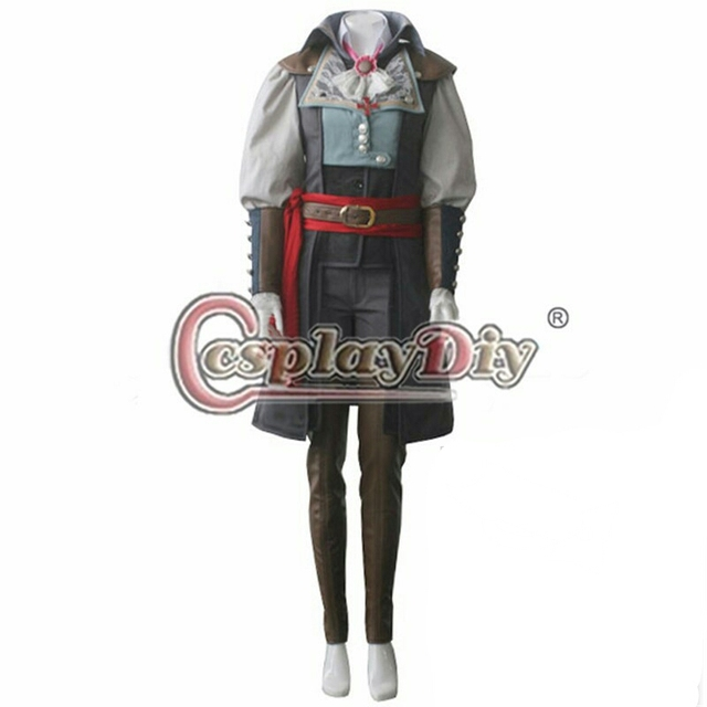 Cosplaydiy Assassin's Creed Costume Unity Elise De LaSerre Cosplay Costume  Adult Women's Halloween Game Outfit Custom made -in Game Costumes from