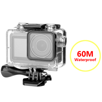 Dla DJI OSMO kamery akcji 60M wodoodporna obudowa przypadku akcesoria do kamer akcji pływający podwodny pole ochronne tanie i dobre opinie CACHALOT For OSMO ACTION Wodoodporne Obudowy