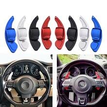 SPEEDWOW 자동차 스티어링 휠 패들 확장 DSG 직접 변속 기어 패들 확장 VW Tiguan Golf 6 MK5 MK6 Jetta GTI R20 R36