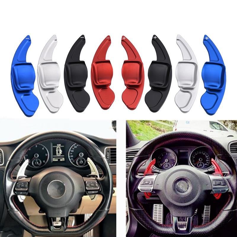SPEEDWOW rueda de dirección de coche extensión de paleta de cambio directo DSG para VW Tiguan Golf 6 MK5 MK6 jeta GTI R20 R36