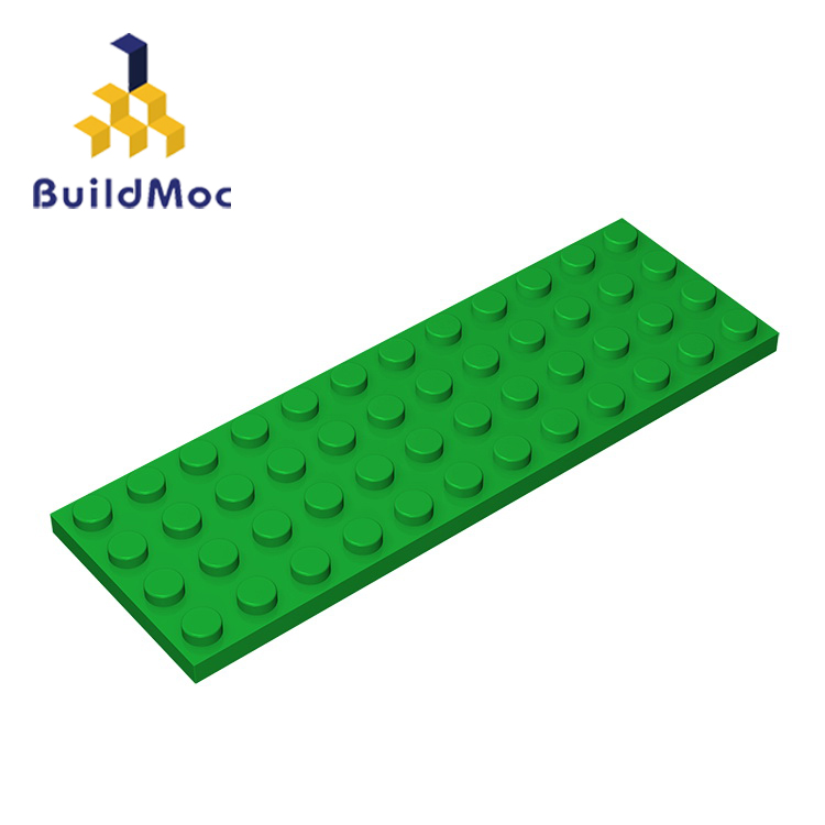 BuildMOC Compatible  Assembles Particles 3029 4x12 For Building Blocks Parts DIY LOGO Educational Creative Gift Toys