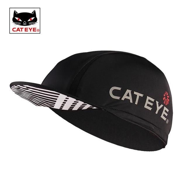 afe37cb1d76 CATEYE Cycling Cap Under Helmet Liner Hat Bicycle Visor Hat Riding MTB Road  Bike Headbands Black Sun Cap for Cycling