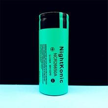 цена High Quality  Nightkonic 6 Pieces  26650  Battery 3.7V 5000mAh Li-ion Rechargeable Battery For LED Flashlight Torch онлайн в 2017 году