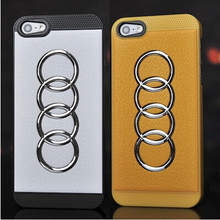 Audi Car Logo Phone Case For Iphone 5 5s