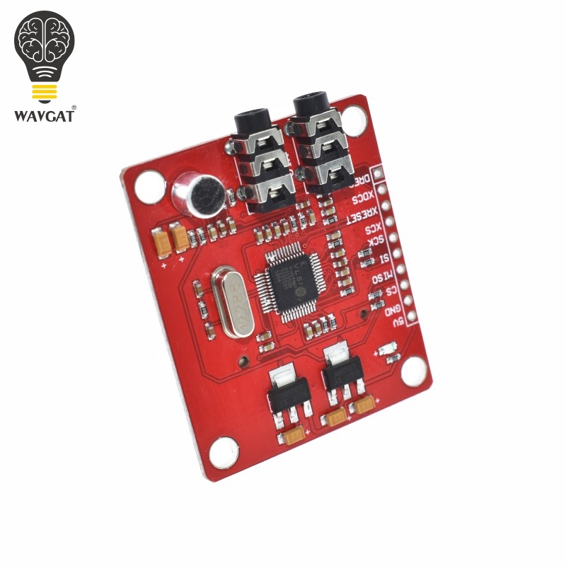 Image 5 - WAVGAT VS1053 VS1053B MP3 Module For Arduino UNO Breakout Board With SD Card Slot Ogg Real time Recording For Arduino UNO-in Integrated Circuits from Electronic Components & Supplies
