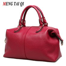 Moda Feminina Messenger Bags Genuine Bolsas De Couro Bolsas de Marcas Famosas Mulheres Saco Crossbody Ombro de Grande Capacidade Feminino 3