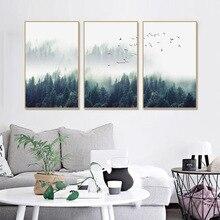 Pinturas da lona do Estilo Nórdico Moderno Escandinavo Imagem do Cartaz Da Arte Da Parede para Sala de estar Decoração de Casa