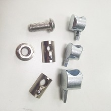 M6/M8 T Slot Interior/Butt Joint with Nut&Bolt Self-allgning Double Anchor Fastener for Aluminum Extrusion Profile 30/40 series 50pcs 20pcs aluminum profile 3030 accessories t screw fastener bolt for slot groove 8mm m6 12 m6 16 m6 20 m6 25 m6 30