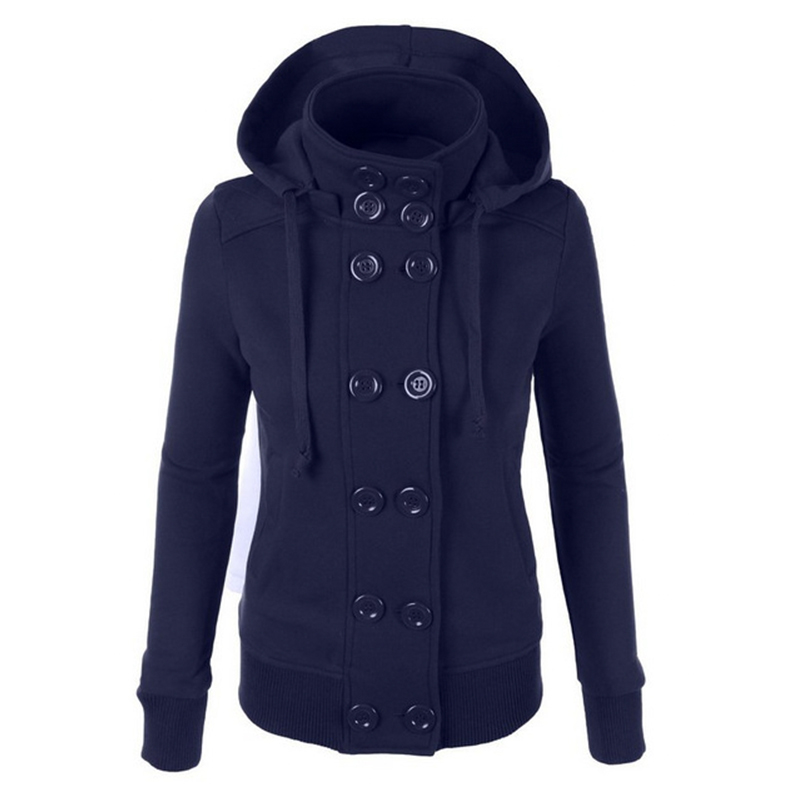 Online Buy Wholesale button neck hoodie from China button neck ...