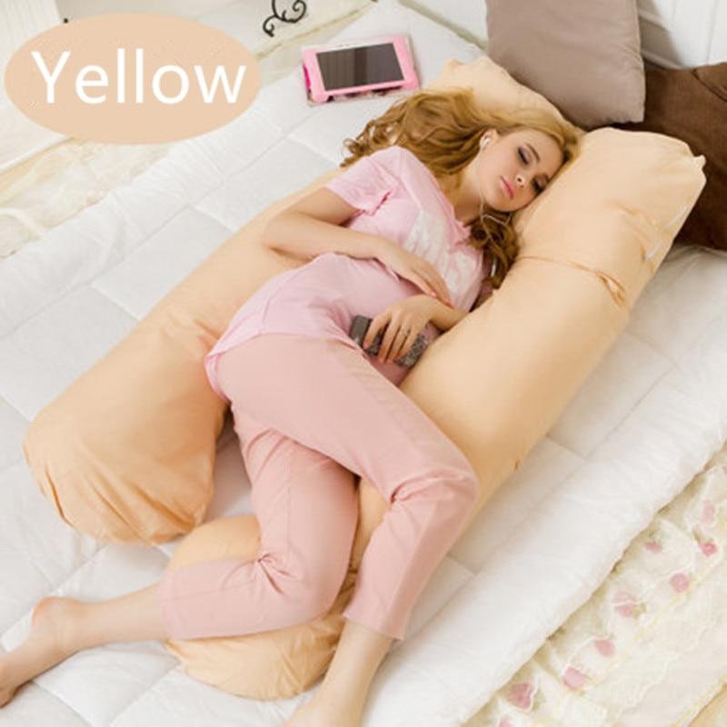 130*70 cm U gravidanza comodi cuscini Maternità Del Corpo della cinghia Carattere gravidanza cuscino Donne in gravidanza in gravidanza Laterali Traversine cuscino