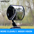 360R Napolex Car Clear View Mirror Car Rearview Mirror Car interior outside blind spot mirror Angle freely adjustable