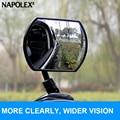 360r napolex coche claro espejo retrovisor del coche de punto ciego espejo gran angular espejo retrovisor interior del coche exterior ajustable libremente