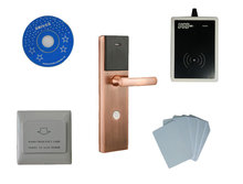 T57 hotel lock system,include T57 hotel lock, usb hotel encoder ,energy saving switch,T57 card ,sn:CA-8035-kit