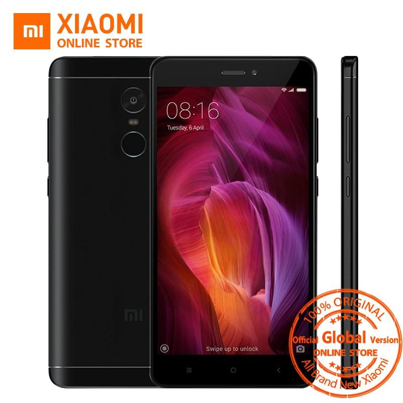 "bilder für Globale Version Xiaomi Redmi Hinweis 4 Smartphone 3 GB 32 GB Snapdragon 625 Octa-core 5,5 ""1080 p 13.0MP FCC CE 4100 mAh OTA"