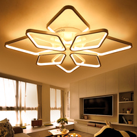 NEO Gleam Diamond Rings Surface Mounted Modern Led Ceiling Lights For Living Room Bedroom Fixtures Indoor