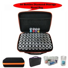 Diamond embroidery diamond painting tool 60 Slots Adjustable Plastic Storage Carry Bag Holder Handbag Container box