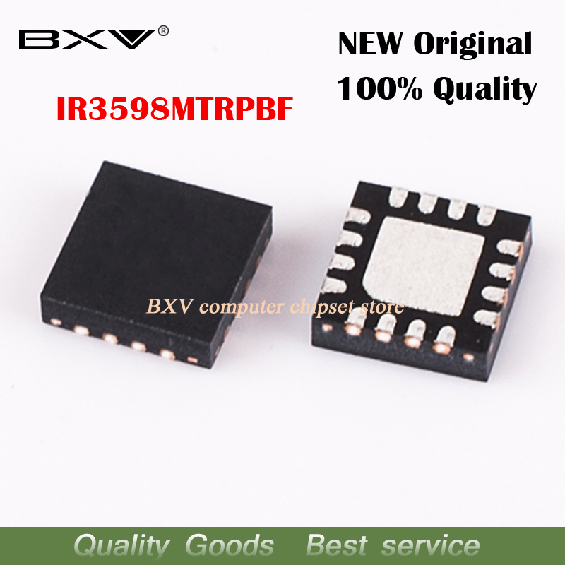 5pcs IR3598MTRPBF IR3598 QFN-16 New Original Laptop Chip Free Shipping
