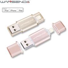 Lightning OTG USB Flash Drive 64gb High Speed Pen Drive 32gb 16gb USB Stick for iPhone 7/7 Plus/6/6 Plus/5S USB 2.0 Pendrive