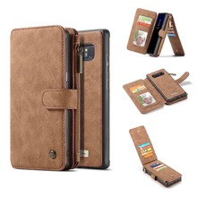 For Funda Samsung Galaxy Note 8 Case Flip Zipper Leather Wallet Phone Cases Cover For Samsung Note 20 Ultra S20 Note 9 S10