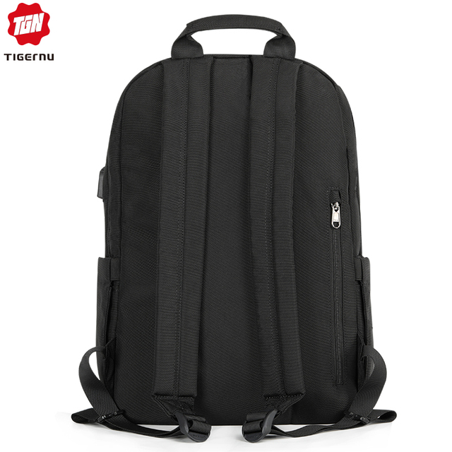 Tigernu 2019 New Fashion Backpack Men 4.0A USB Charging 15.6 inch Laptop Travel Bags Multifunction Male Female Schoolbags Casual 3