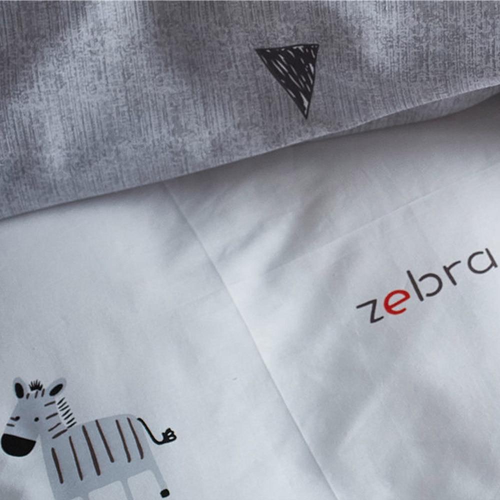 Funda Nordica Zebra.Printed Zebra Bedding Duvet Cover Sets Us Twin Queen King Size Kids