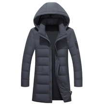 Brand 2017 Cotton-Padded Clothing Casual Men's Jackets High Quality Fashion Autumn Winter Coats Outwear Jacket Parkas Thicker