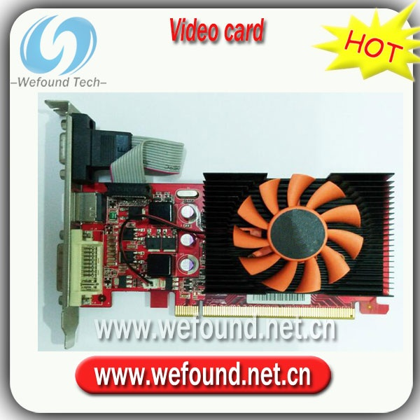 Original for Graphics Card Half Knife Card GT430 440 1G DDR3 128 bit graphics card  Colors are shipped randomly