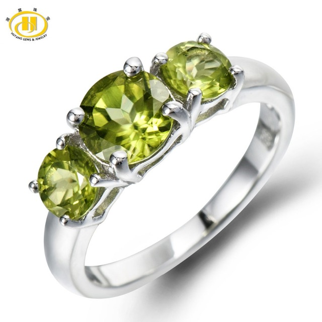 Fine Jewelry Womens Green Peridot Sterling Silver Cocktail Ring ZZgHGxrar